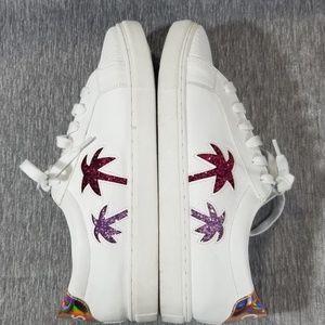 Sam Edelman Palm Tree Sneakers Size 10M